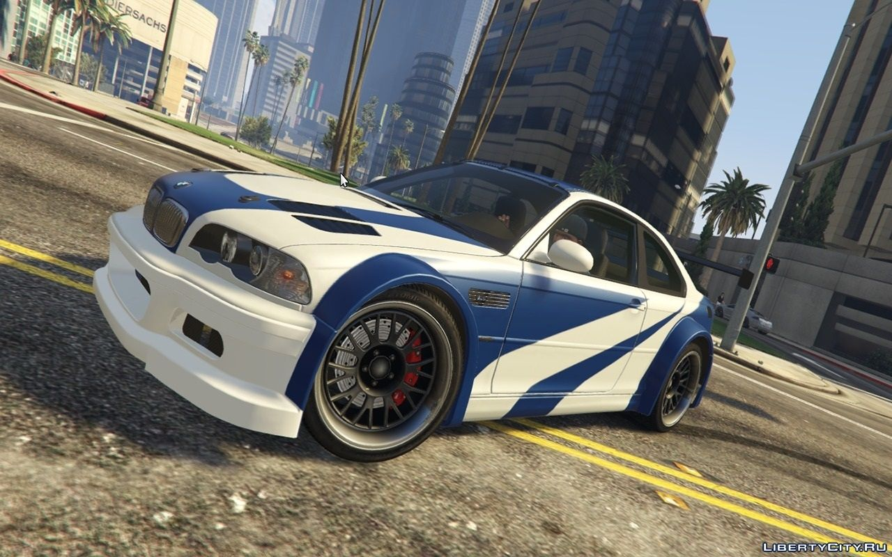 "BMW M3 GTR E46 ""Most Wanted"" for GTA 5"