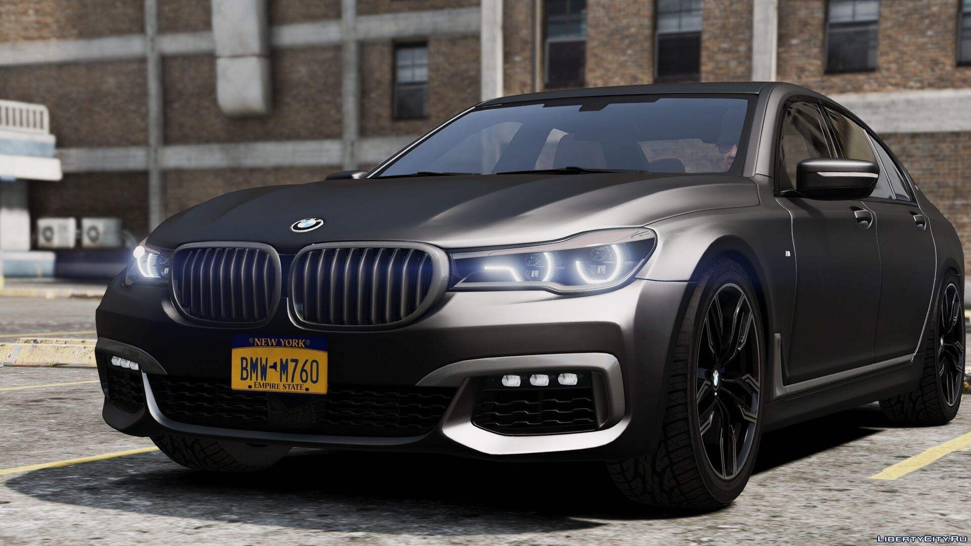 2017 Bmw M760i Add On Replace For Gta 5