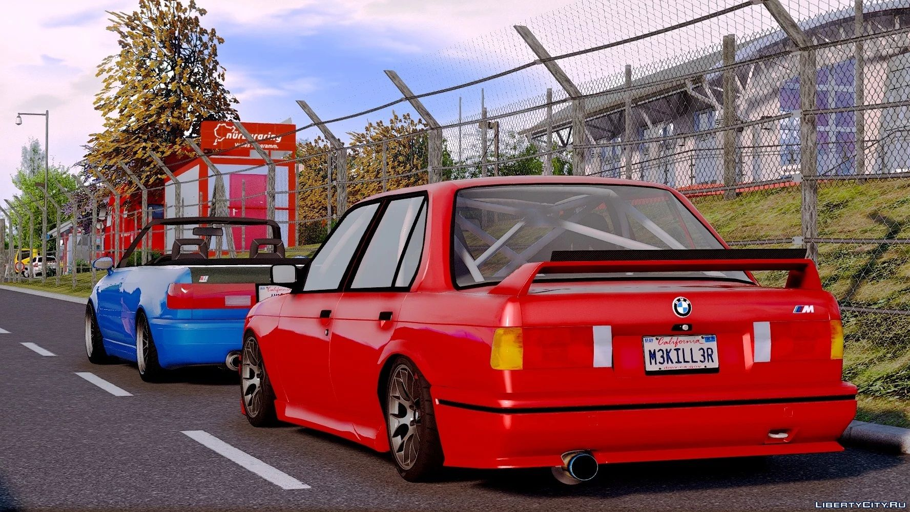 1986 Bmw 325e E30 Pfl 2in1 Add On Replace Tuning Extras 1 0 For Gta 5