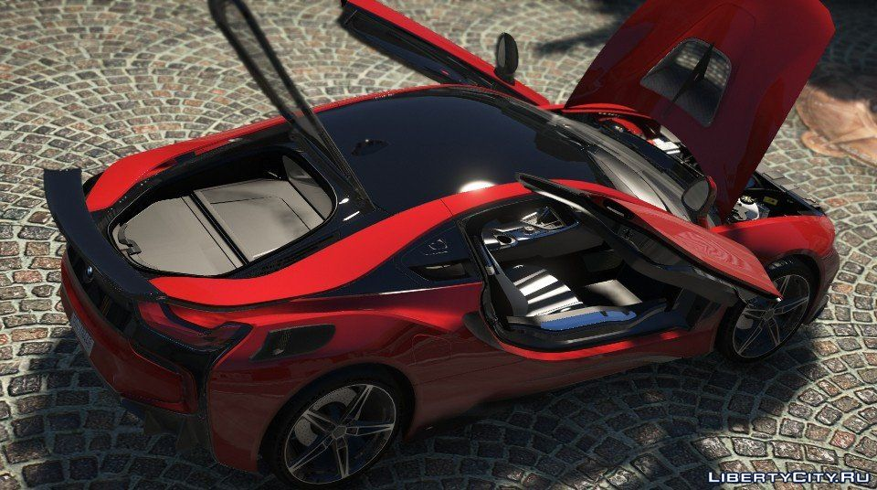 Bmw I8 Ac Schnitzer Acs8 Add On Replace 1 1 For Gta 5