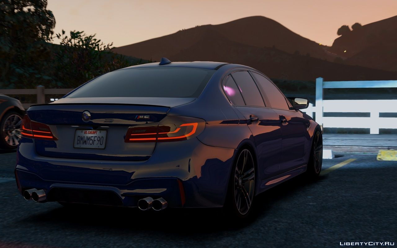 Bmw M5 F90 2018 Add On 1 0 For Gta 5