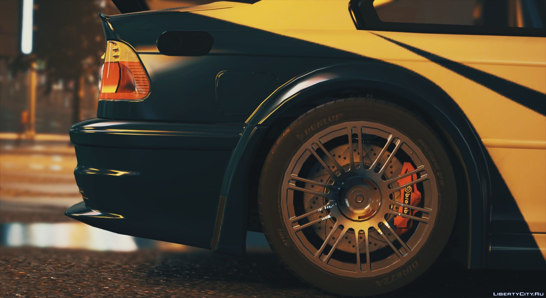 BMW M3 GTR E46 of Need for Speed: Most Wanted for GTA 5