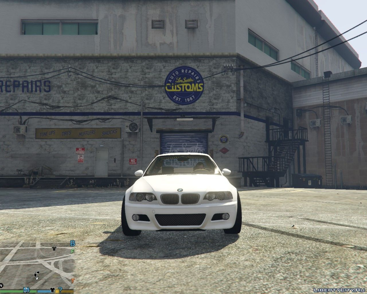 BMW M3 E46 1 1 for GTA 5