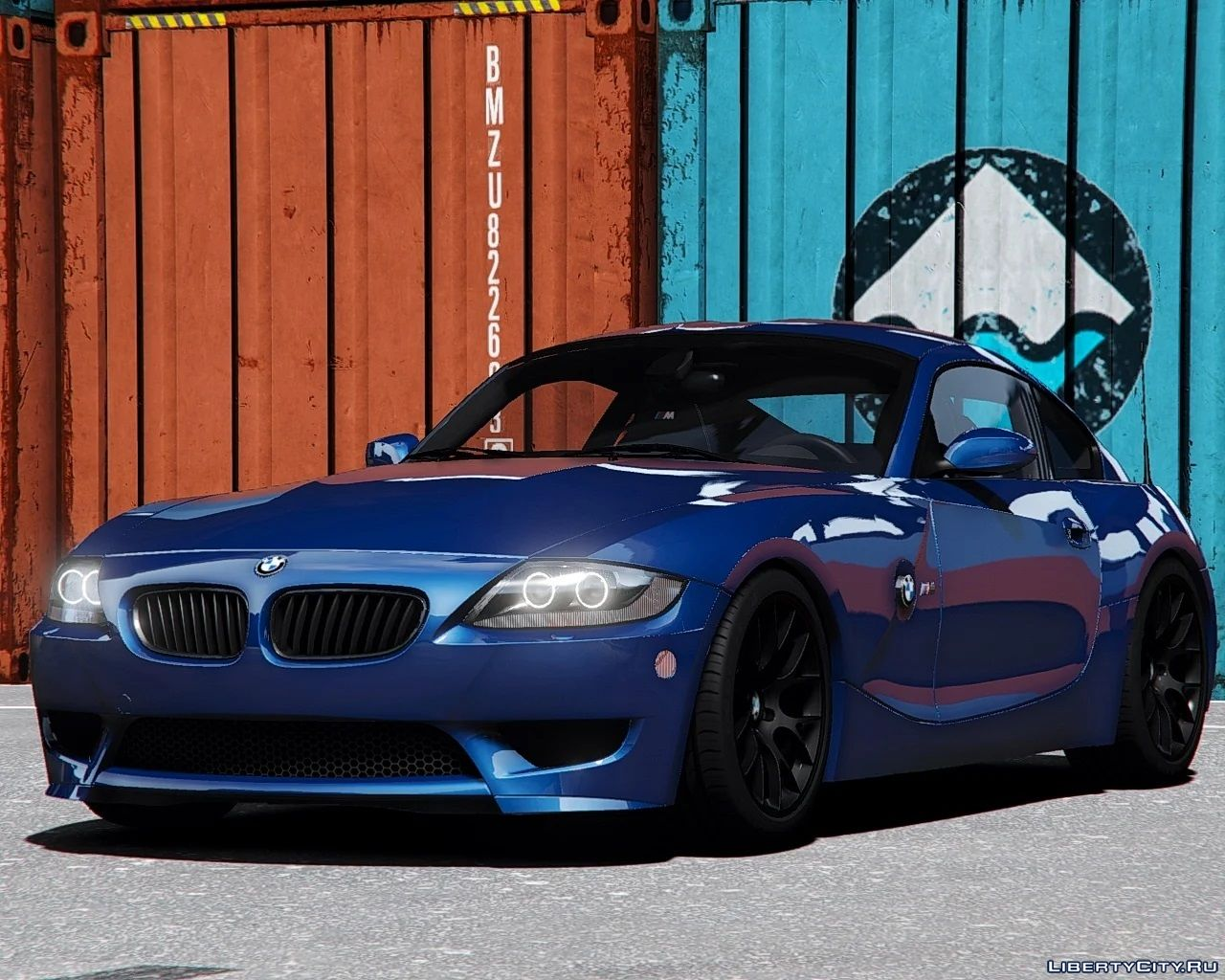 Bmw Z4 M Coupe 2006 2008 Add On 1 0 For Gta 5