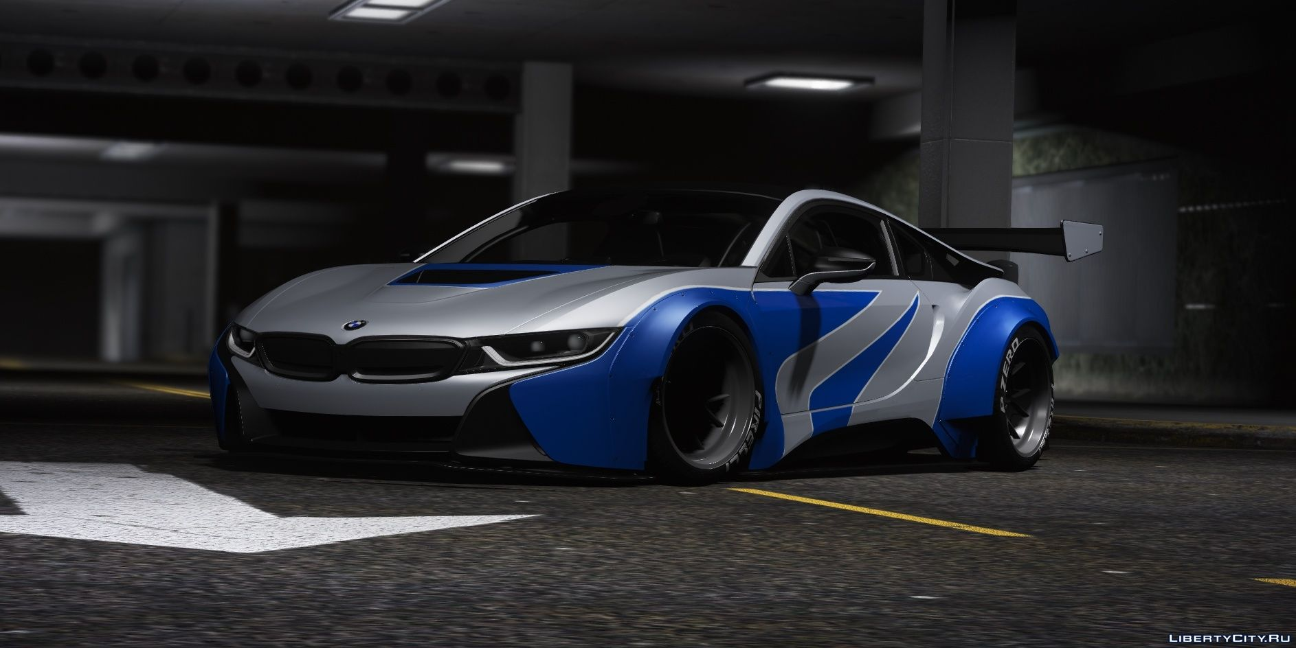 Bmw I8 Coupe Mansaug Replace Addon Template Multi Livery 2 0