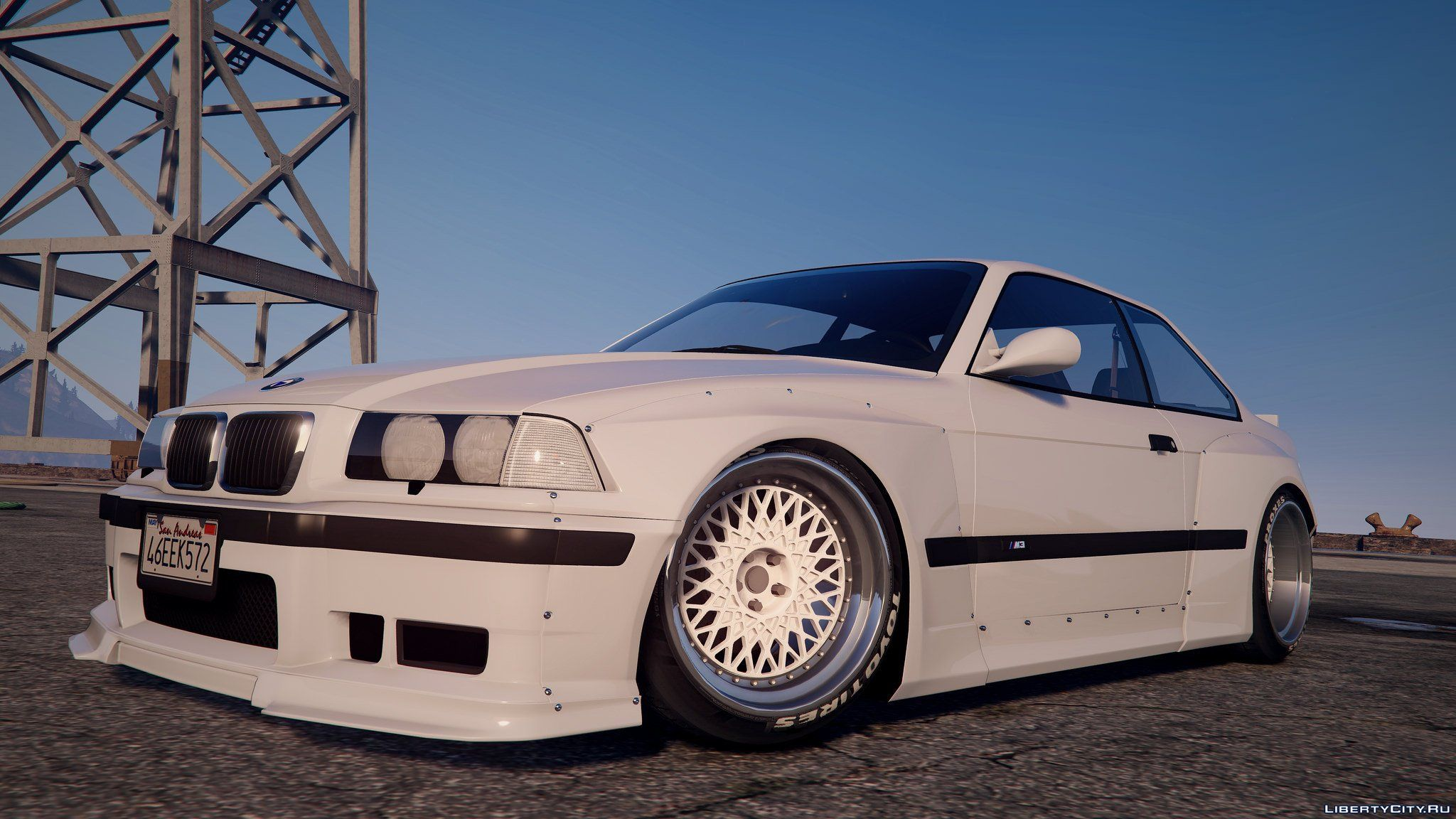 1992 BMW M3 E36 Pandem Rocket Bunny [Add-On / Replace | Tuning] 2.2 ...