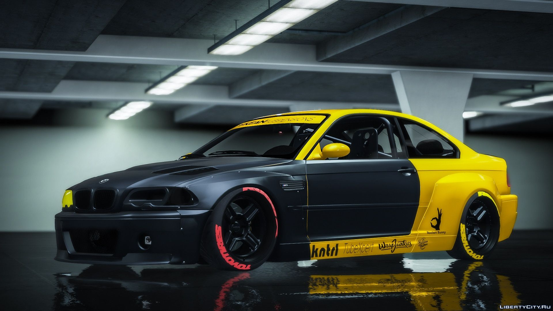 Bmw M3 E46 Csl 2005 Rocket Bunny Add On Replace 1 2 For Gta 5