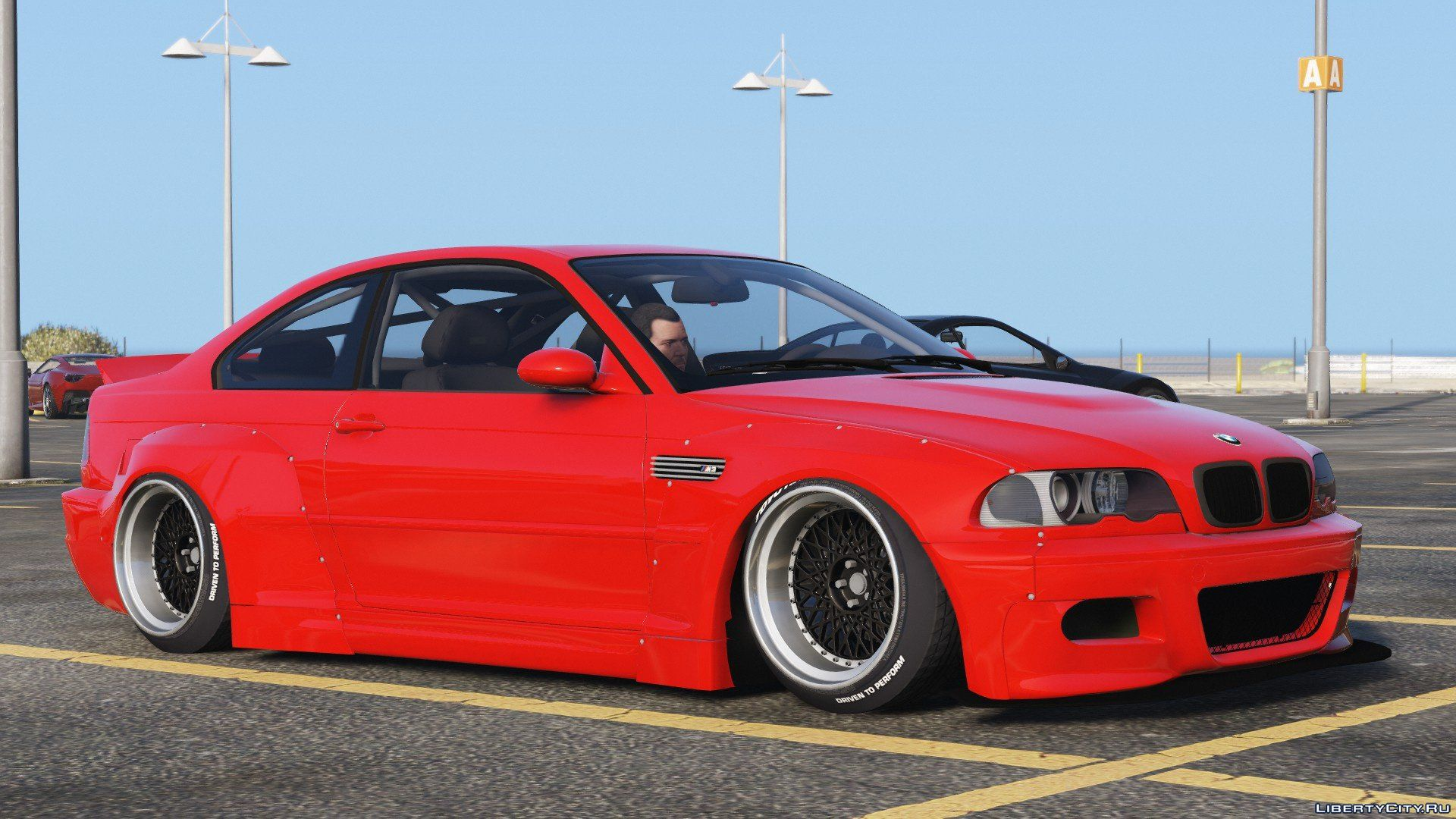 2000 BMW M3 E46 Pandem Rocket Bunny [Replace] 1 0 for GTA 5