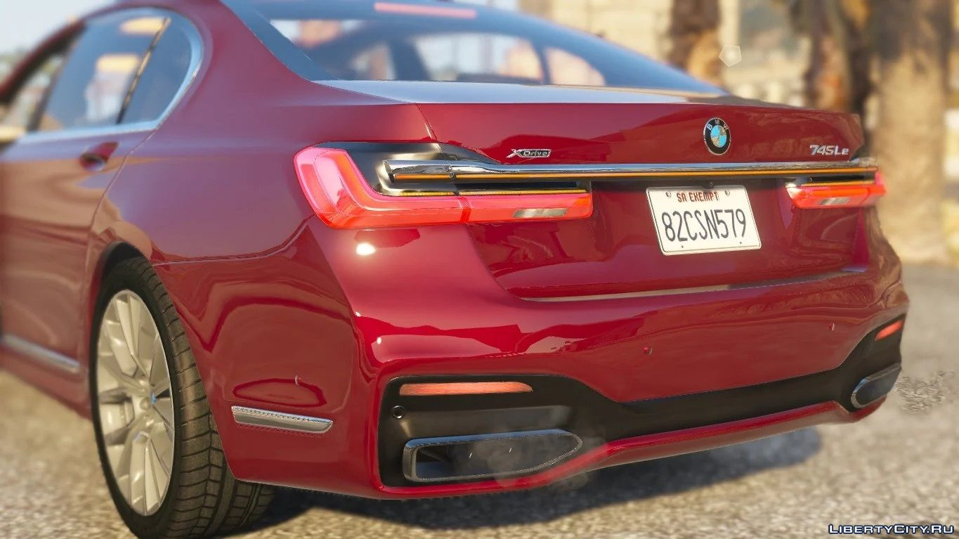 2020 Bmw 745le Xdrive 7 Series Add On 1 0 For Gta 5