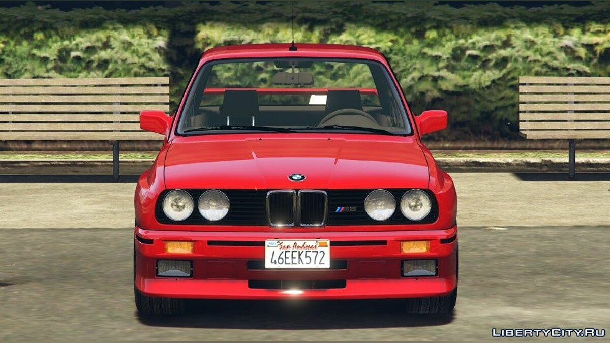 BMW car 1991 BMW E30 M3 [Add-On / Replace | Livery] 1.7 for GTA 5
