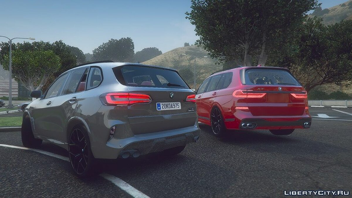 BMW car BMW X7 2020 (M50D) [Add-on] 1.0 for GTA 5