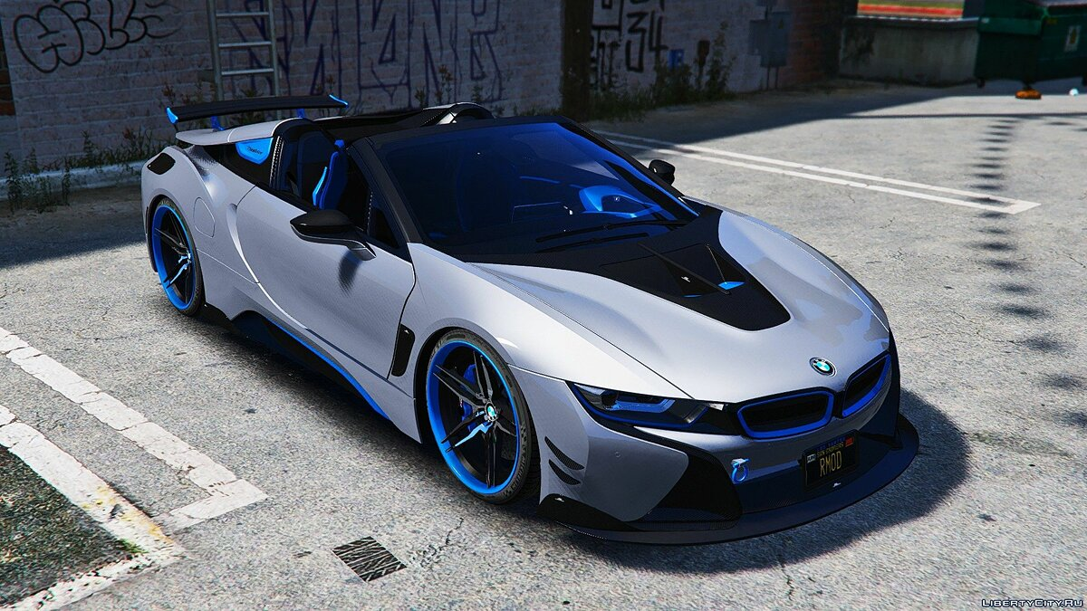 BMW car BMW I8 Roadster AC Schnitzer [Add-On / OIV] 1.0 for GTA 5