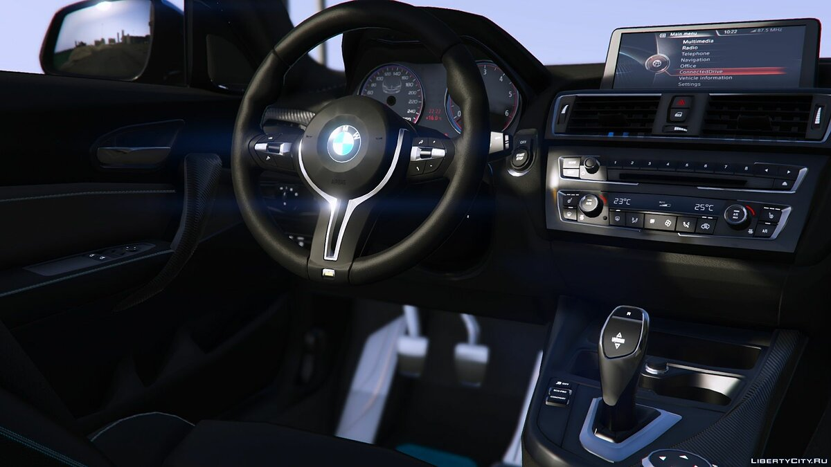BMW car 2016 BMW M2 [Add-On / Replace   Tuning   Template] 3.0 for GTA 5