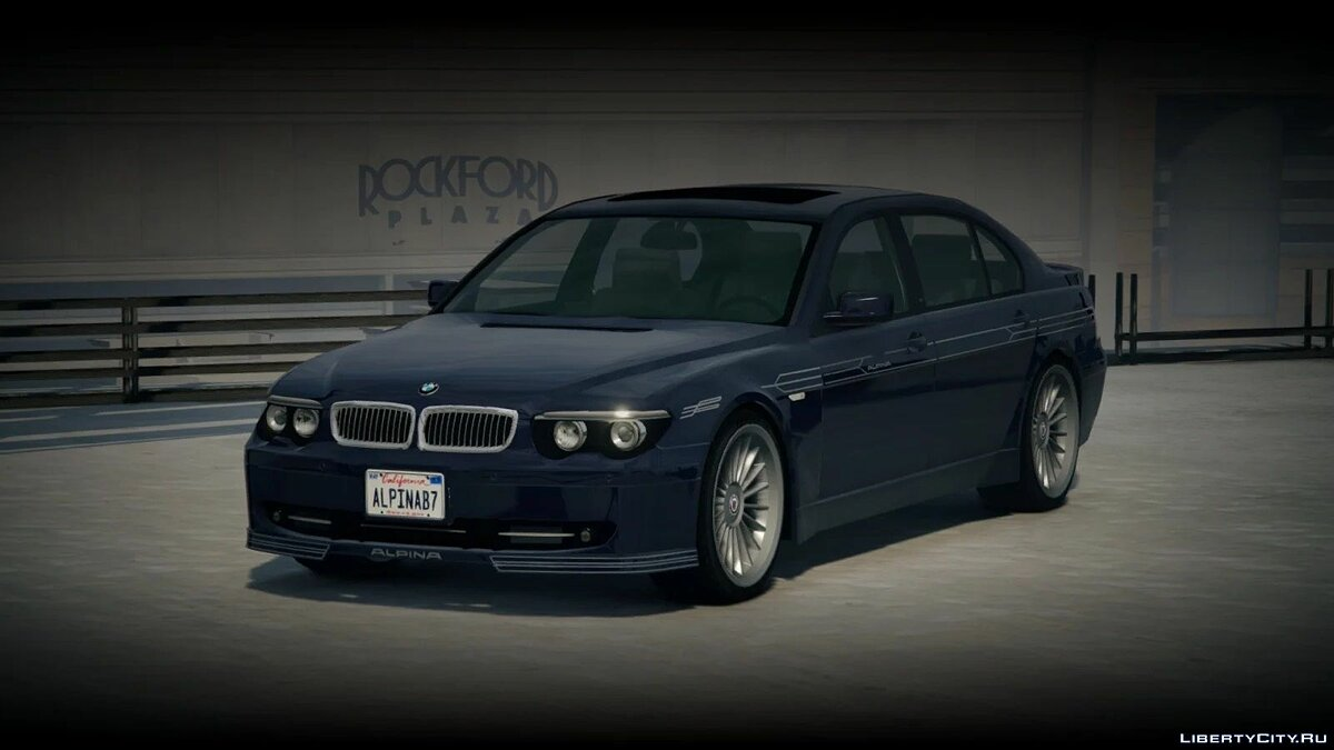 BMW car 2004 BMW Alpina B7L (E66 / PFL) [Add-On / Replace | Extras | Tuning] 1.0 for GTA 5