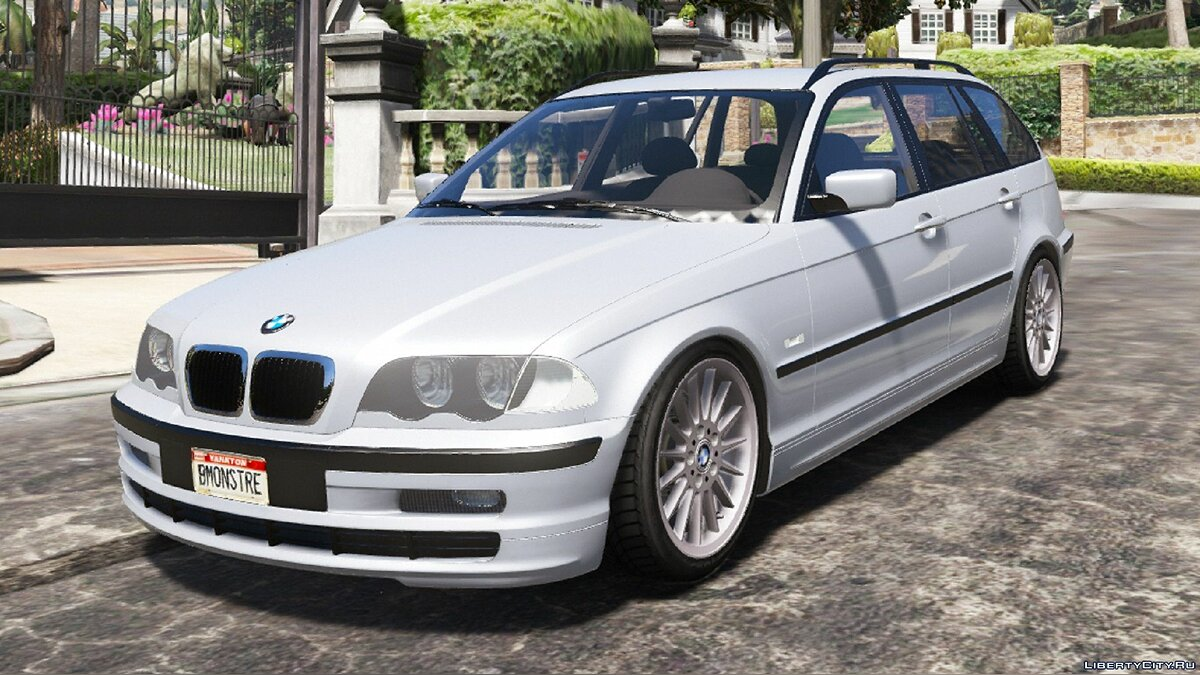 BMW car BMW E46 Touring Phase 1 [Add-On] 1.0 for GTA 5