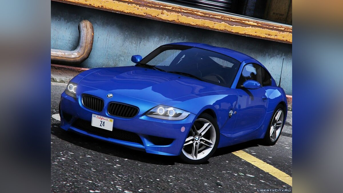 BMW car BMW Z4 M Coupe 2006-2008 [Add-On] 1.0 for GTA 5