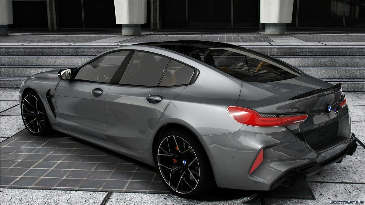 BMW car BMW M8 Competition Grand Coupe for GTA 5