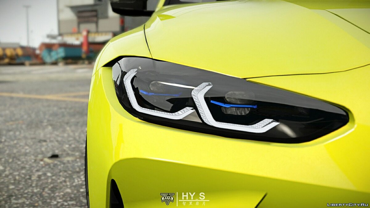 BMW car 2021 BMW M4 Competition [Add-On | Template] 1.0 for GTA 5