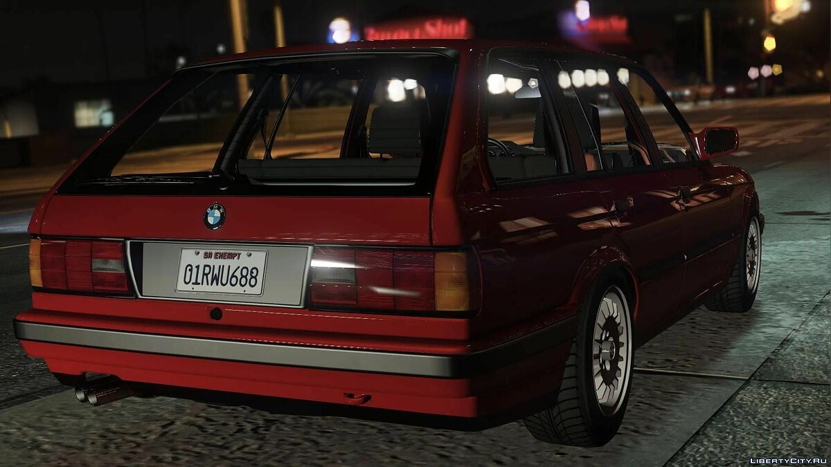 BMW car BMW E30 TOURING 1.0 FINAL for GTA 5