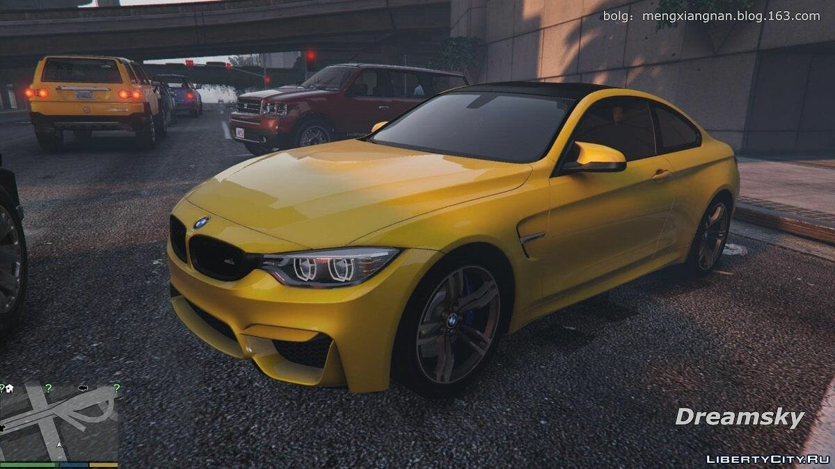 BMW car 2015 BMW Mph F82 for GTA 5