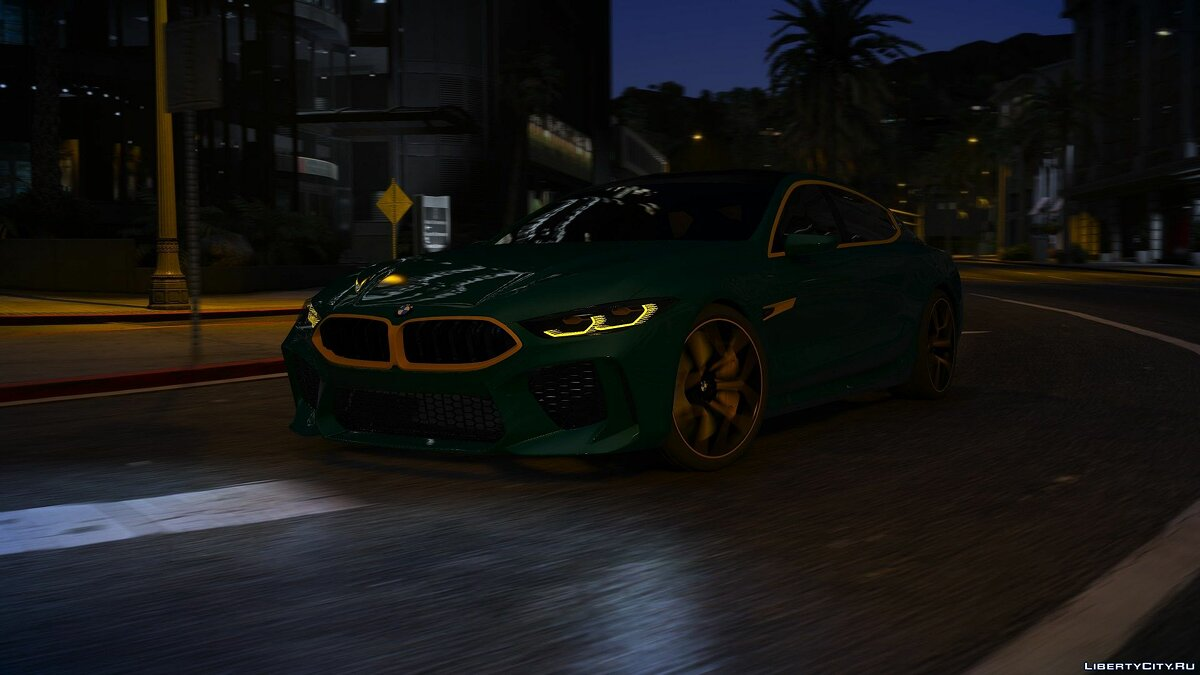 BMW car BMW M8 Gran Coupe Concept for GTA 5