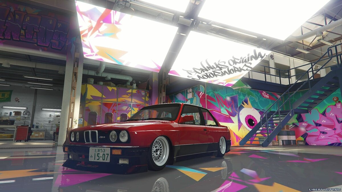 BMW car BMW M3 E30 Stance [Add-On | Replace] 1.0 for GTA 5