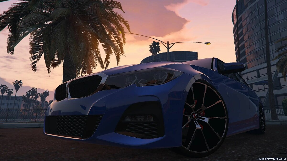 BMW car BMW 330I 2020 for GTA 5