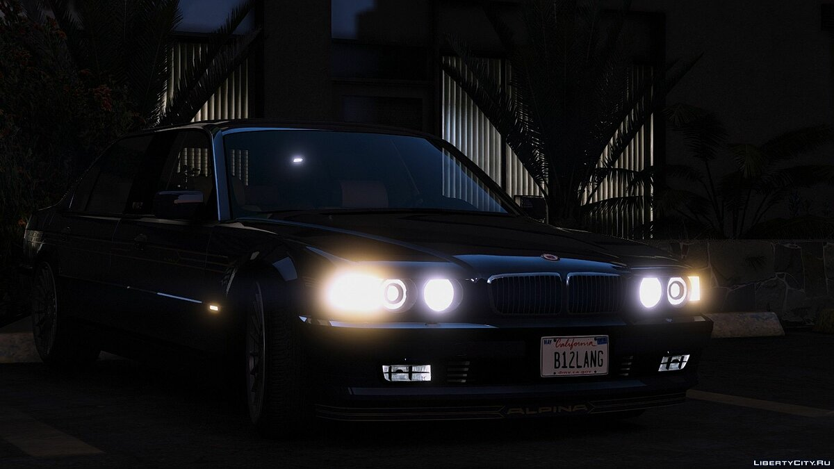 BMW car 2001 BMW Alpina B12 6.0 Lang [Add-On/Replace/Extras] 1.0 for GTA 5