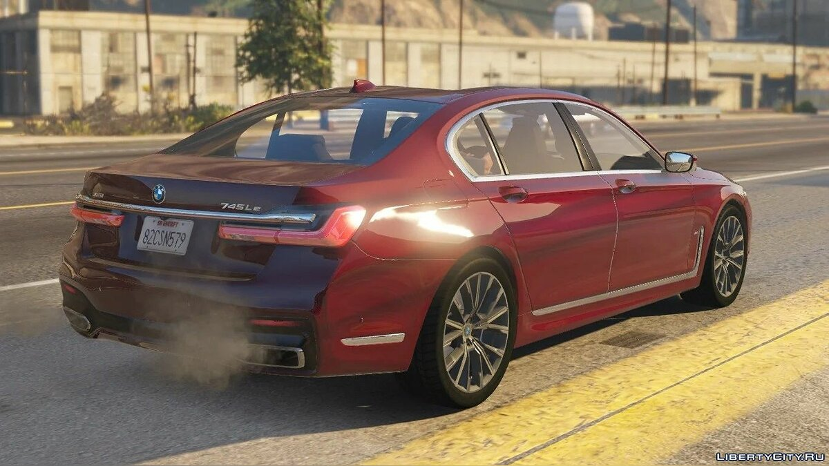 BMW car 2020 BMW 745Le xDrive (7 Series) [Add-On] 1.0 for GTA 5
