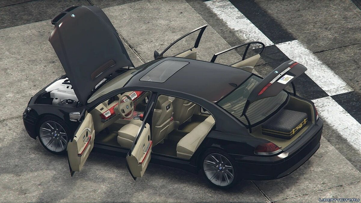 BMW car 2004 BMW 760Li Individual (E66 / PFL) [Add-On / Replace | Tuning | Extras] 1.0 for GTA 5