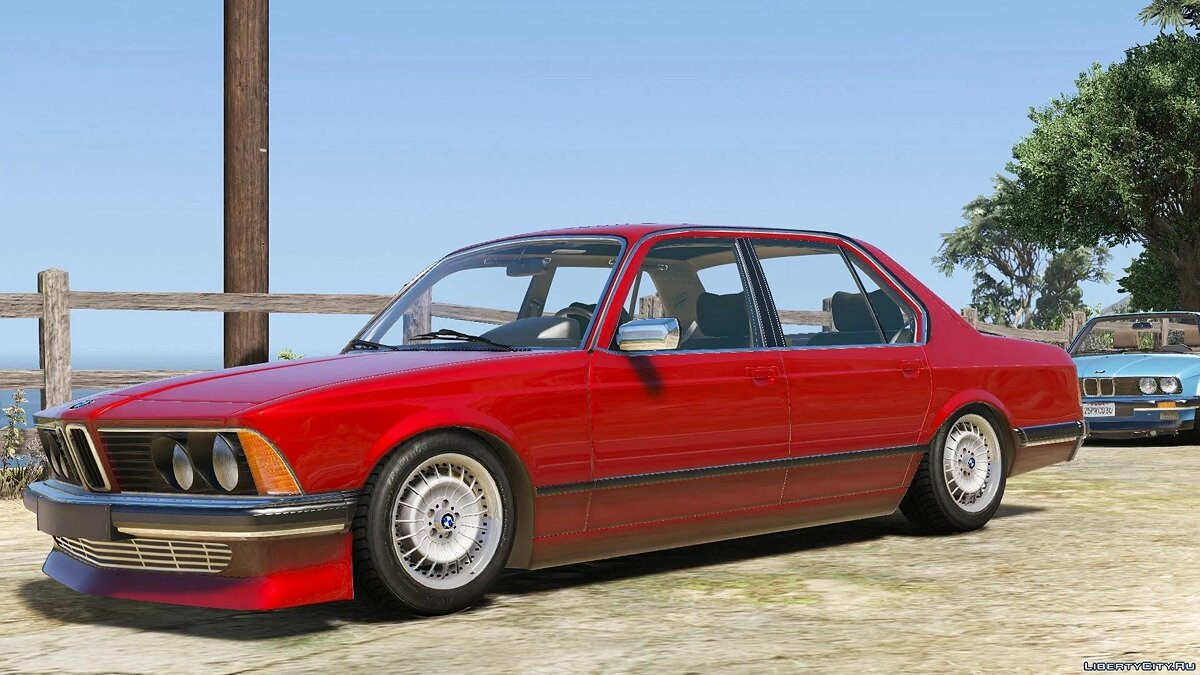 BMW car BMW 7 Series E23 [Add-On | Extras | Tuning] 1.0 for GTA 5