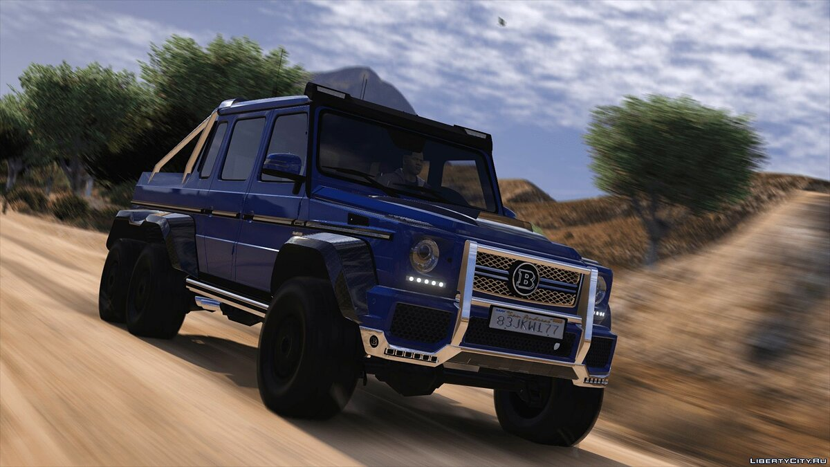 Brabus car BRABUS 700 G63 AMG 6x6 (Add-on / Replace) 4.0 for GTA 5