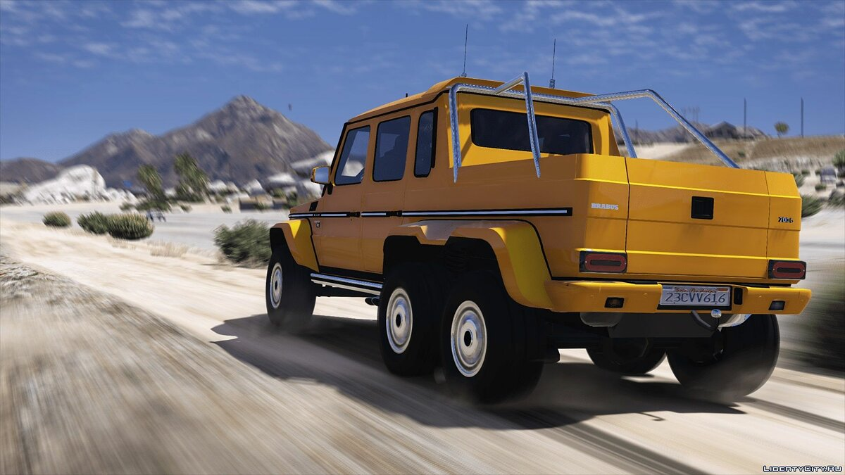 Brabus car BRABUS 700 G63 AMG 6x6 (Add-on / Replace) 3.0 for GTA 5