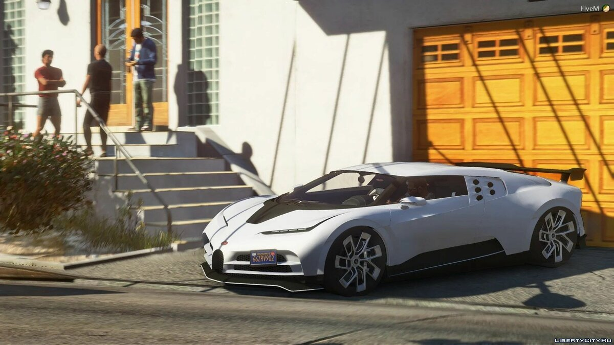 Bugatti car Bugatti Centodieci 2020 [Add-On] 1.1 for GTA 5