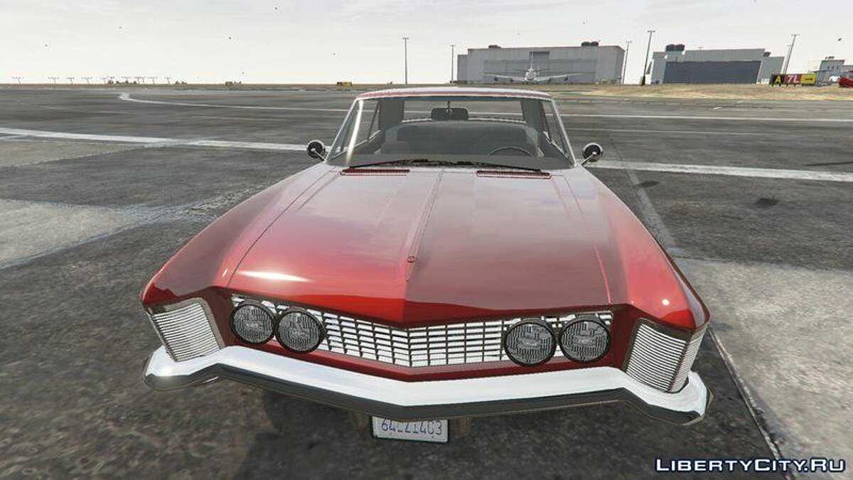 Buick car Buick Riviera 1963 [Add-On] for GTA 5