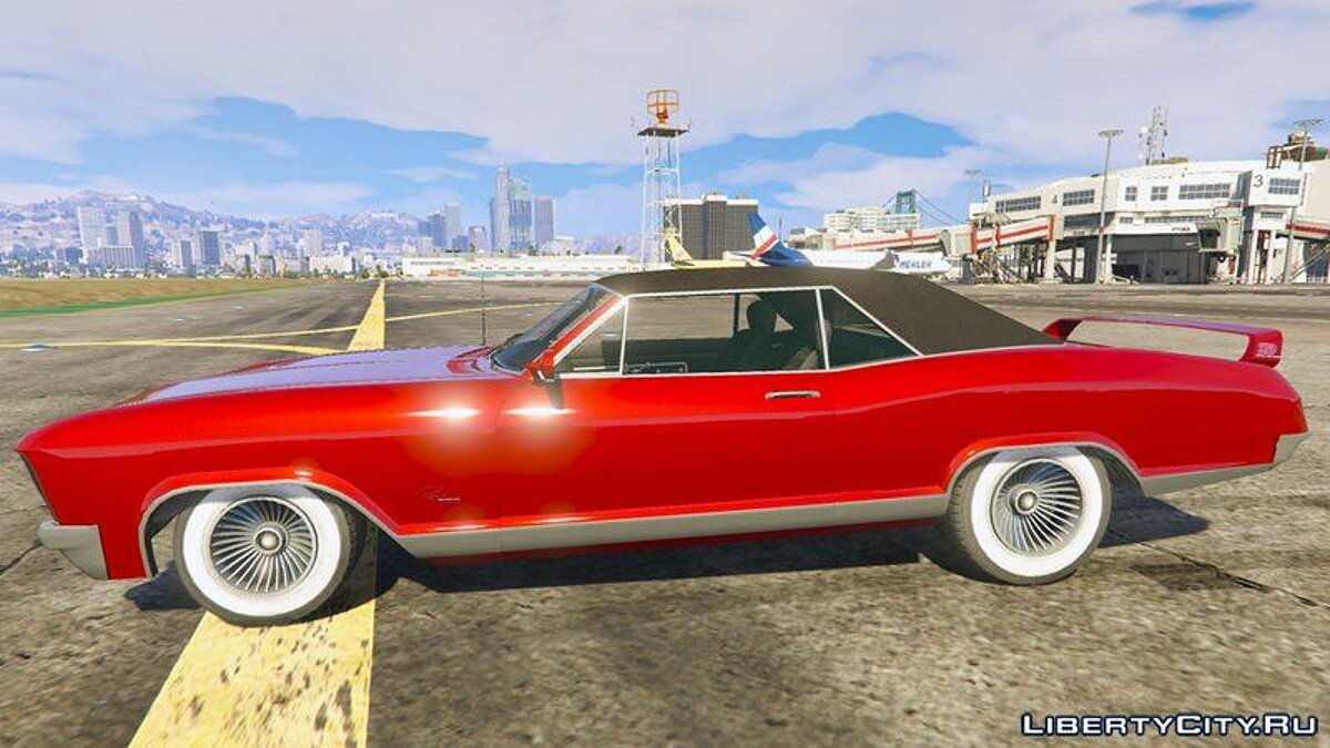 Buick car Buick Riviera 1968 [Add-On / Tuning] for GTA 5