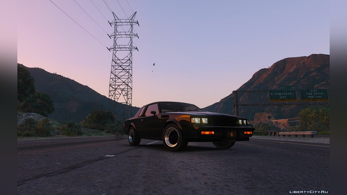 Buick car 1987 Buick GNX [Add-On / Replace] 1.4 for GTA 5