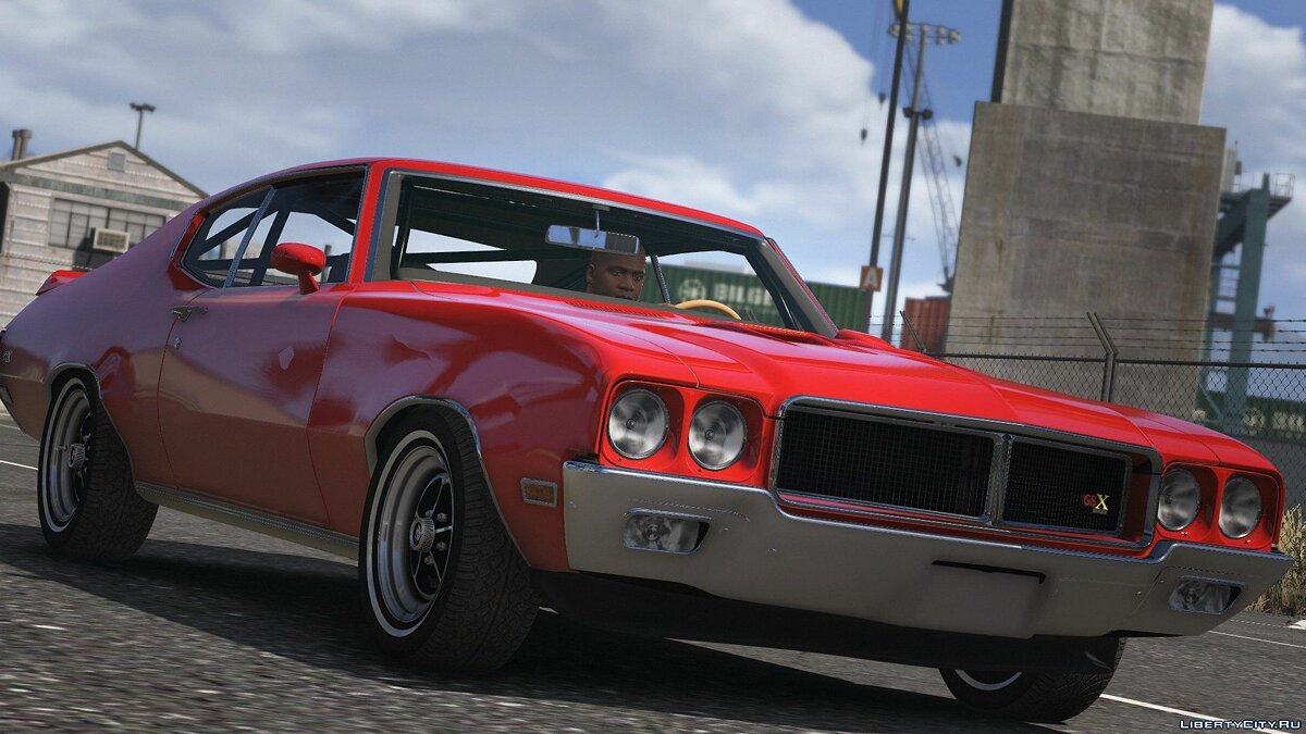 Buick car 1970 Buick GSX [Add-on | Tuning | Livery] 1.0 for GTA 5