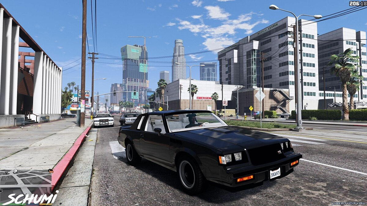Buick car Buick GNX 1987 1.0 for GTA 5