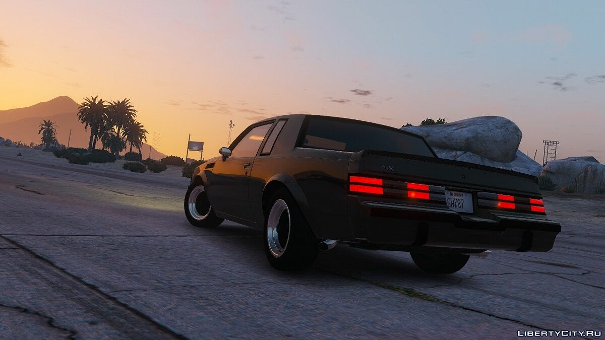 Buick car 1987 Buick GNX [Add-On / Replace] 1.6 for GTA 5