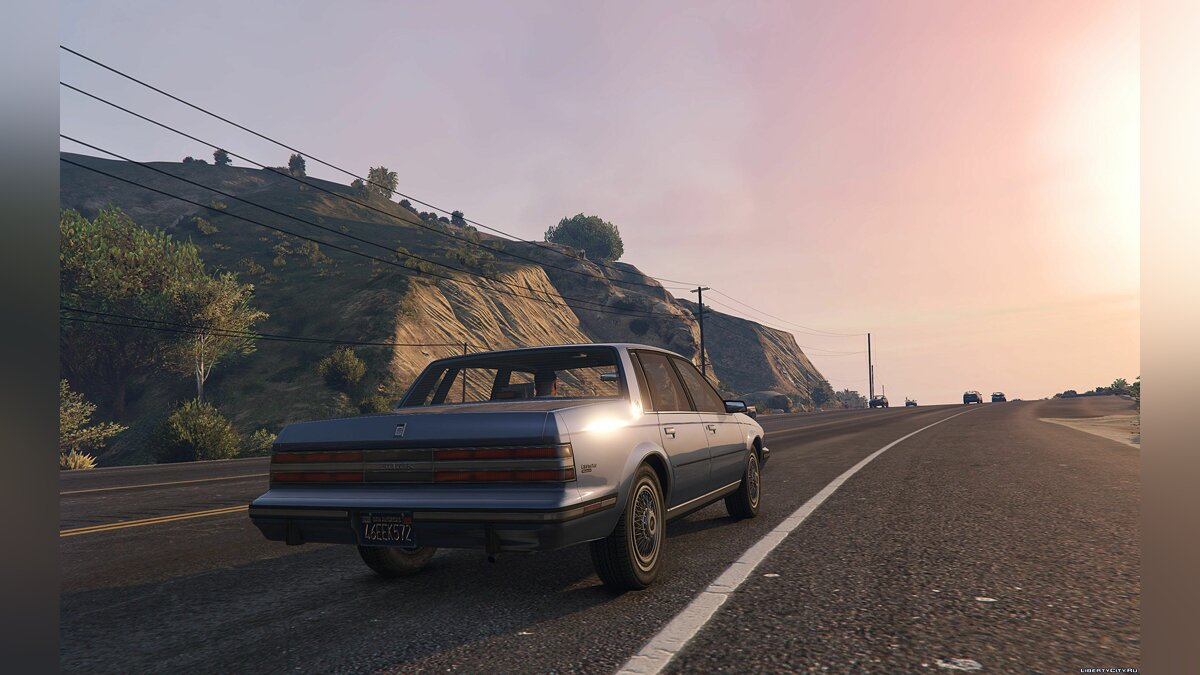 Buick car 1986 Buick Century Limited [Add-On / Replace] 1.4 for GTA 5
