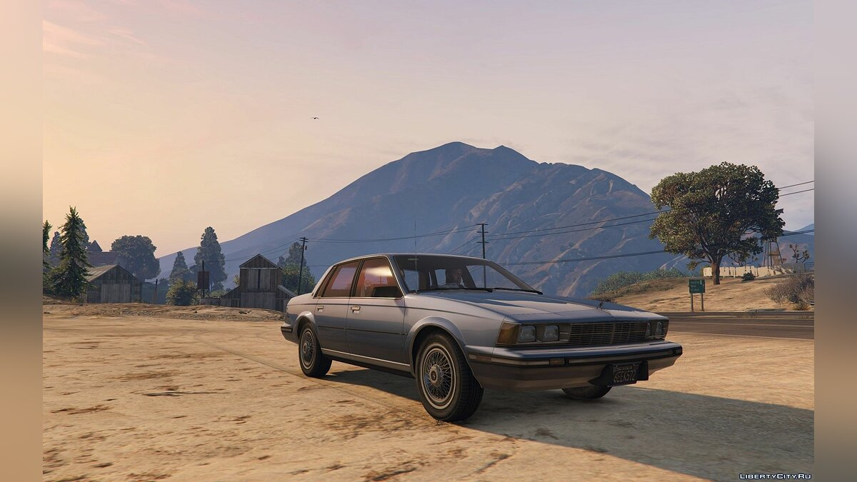 Buick car 1986 Buick Century Limited [Add-On] 1.2 for GTA 5