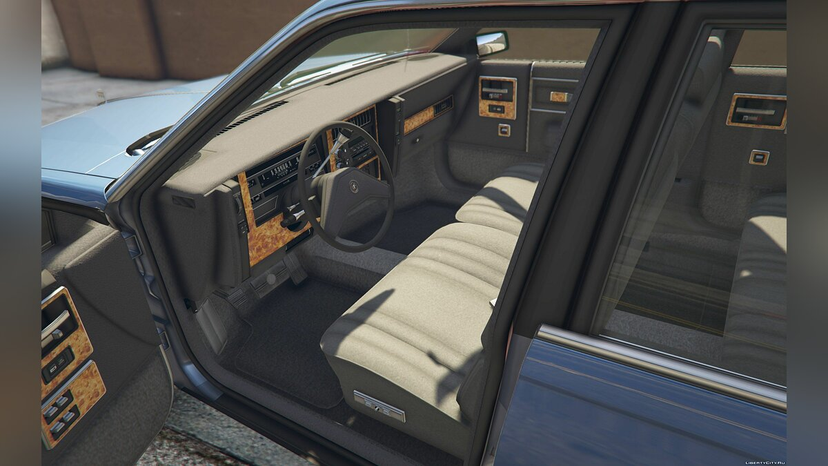 Buick car 1986 Buick Century Limited [Add-On] 1.0 for GTA 5