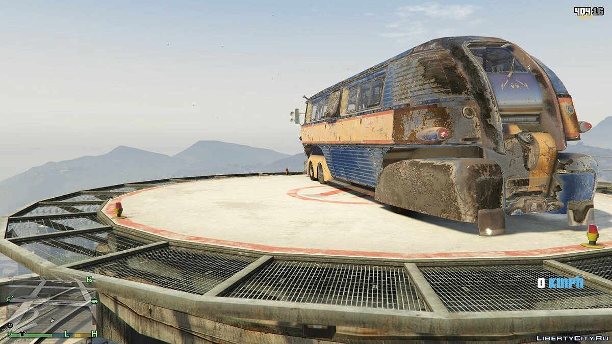 Bus Bus from Fallout 4 for GTA 5