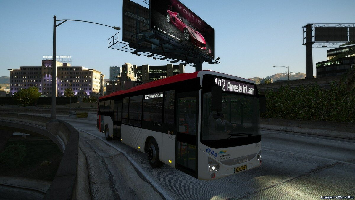Bus Iveco Crossway LE CNG for GTA 5