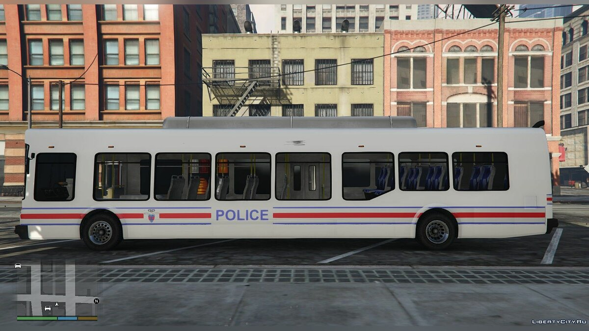 Bus National Police Bus [Replace] for GTA 5