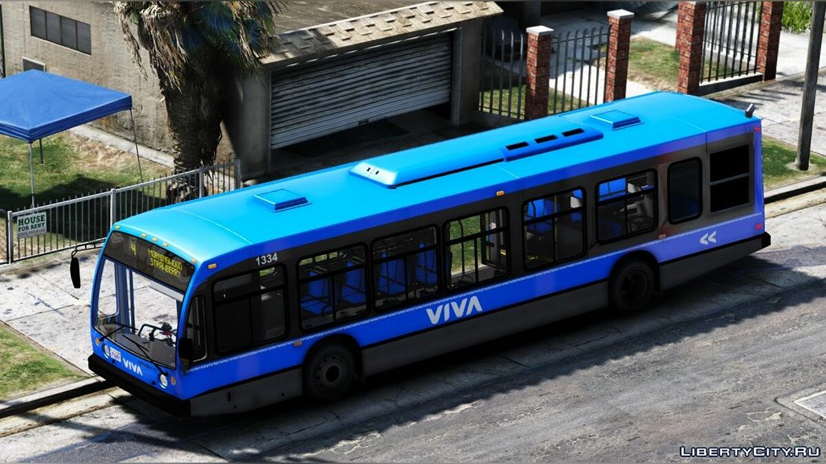 Bus YRT Based LS Transit 2nd Generation Novabus LFS 1.0 for GTA 5