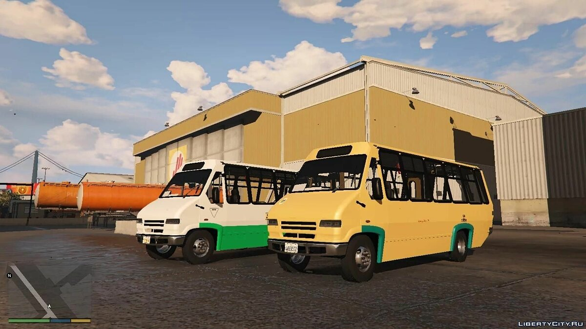 Bus Microbus AYCO Prisma lV [add on | tuning | template | UNLOCK] beta for GTA 5