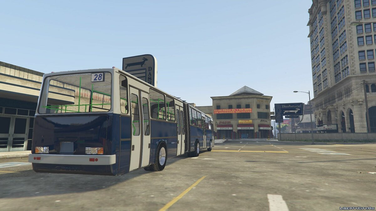 Bus Ikarus 283 - Ikarus 283 for GTA 5