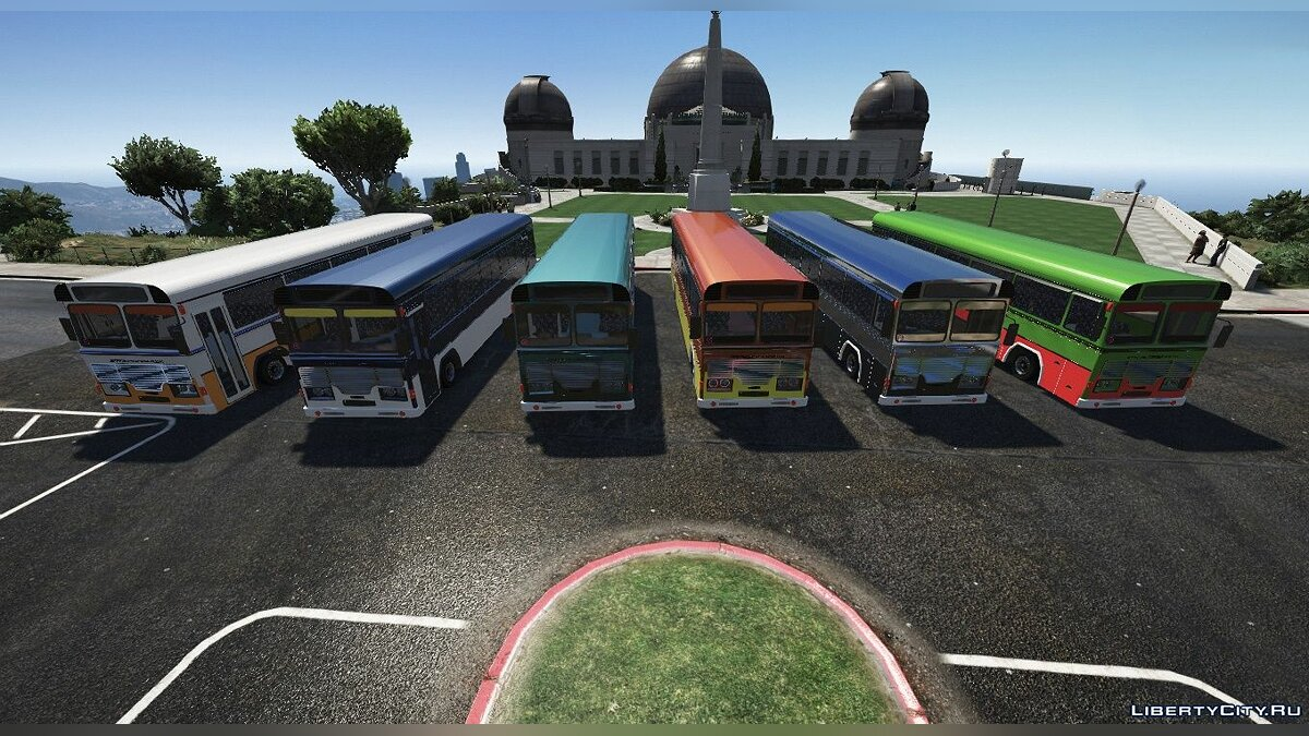 Bus Lanka Ashok Leyland Bus for GTA 5